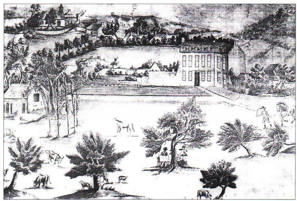 Fig. 2: Buwchllaethwen, Carmarthenshire (1789)