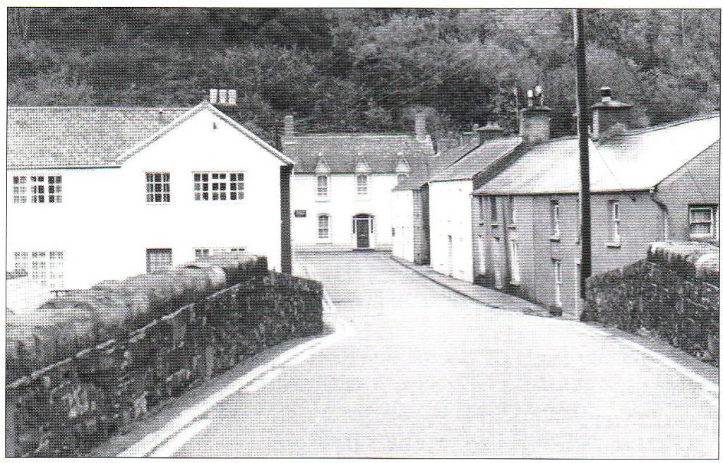 Fig 1: Ben Rees's birthplace: Bridge Street, Lower Town, Fishguard.
