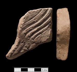 Roman Flue tile from Ford near Wolfcastle