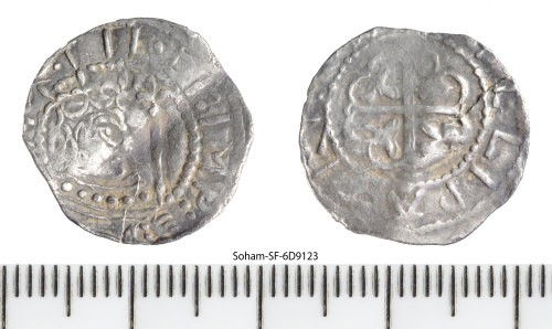 a unique silver penny of Matilda struck at Pembroke by Gillepatric (or Gillopatric) image courtesy of Time Life Auctions.